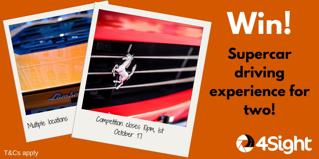 WIN! A supercar driving experience