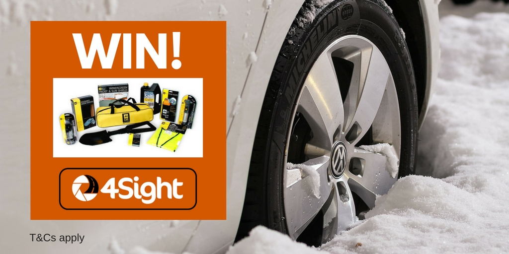WIN! A winter driving kit & 4Sight subscription
